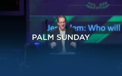 Palm Sunday, 2015